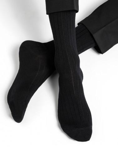 Socken Wolle Innenseite Baumwolle