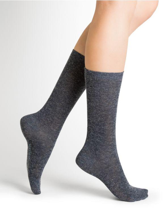 Duo Jersey Socken Angora (Set 2 Paar)