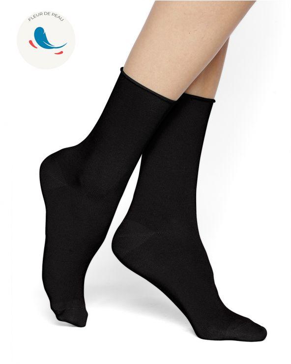 Hypoallergene Socken seidenweich Baumwolle