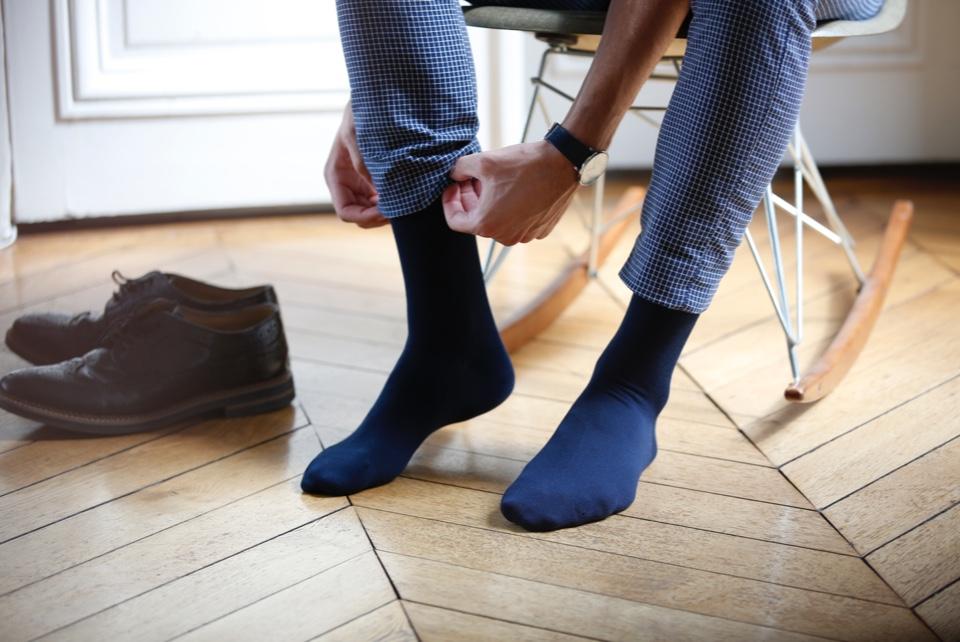 Unsere Socken in großen Größen