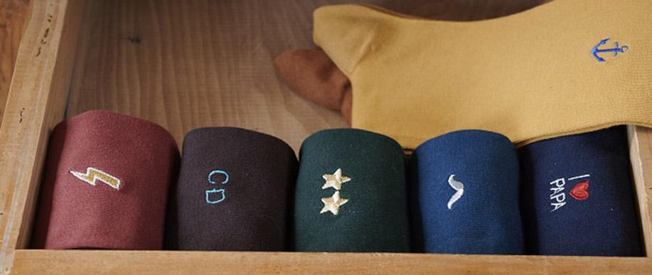 Ihre Socken personalisieren